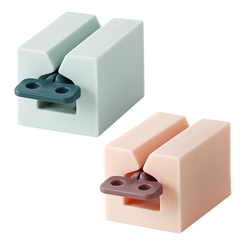 튜브링거 치약짜개 물감 츄르짜개 치약디스펜서 신박템 기발한아이디어상품, 라이트블루 1p + 밀크핑크 1p개