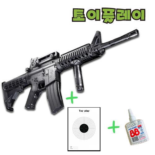 엘케이유로 아카데미과학 비비탄총 M4A1 R.I.S 장난감총, A.에어건 M4A1 RIS