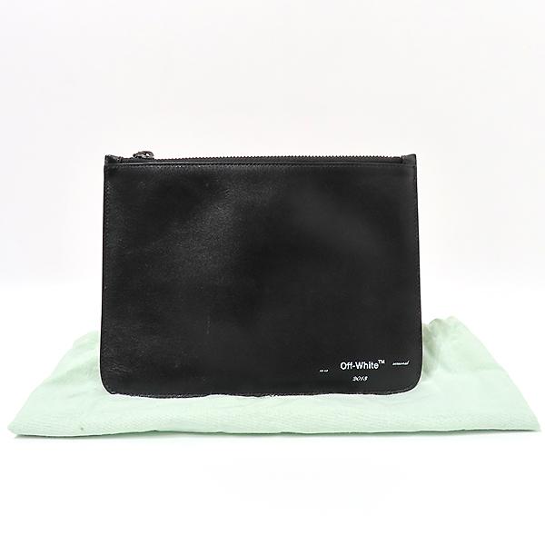 오프화이트 블랙 파우치 가방 [K0021OFF]