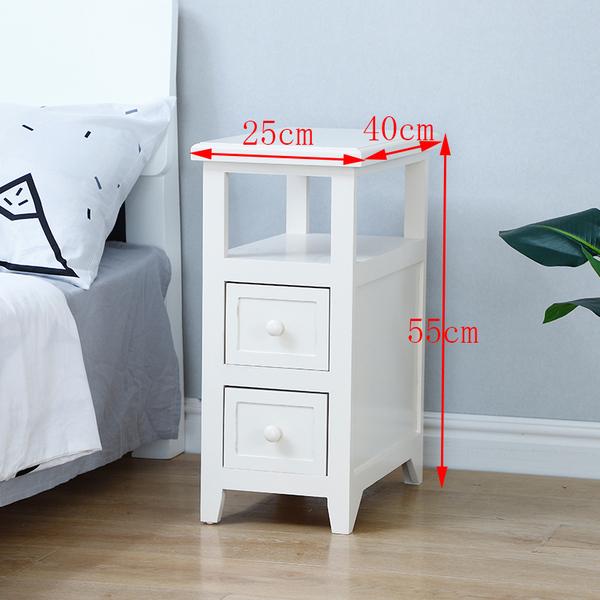 침대옆선반 이케아 좁은 미니테이블 협탁, AC_기본
