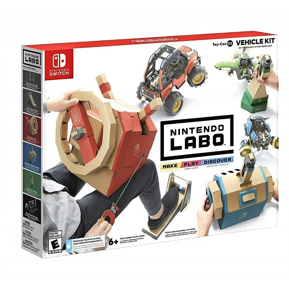 닌텐도 라보 토이 자동차 키트 Nintendo Labo Toy Vehicle Kit - 닌텐도 스위치, 단일상품