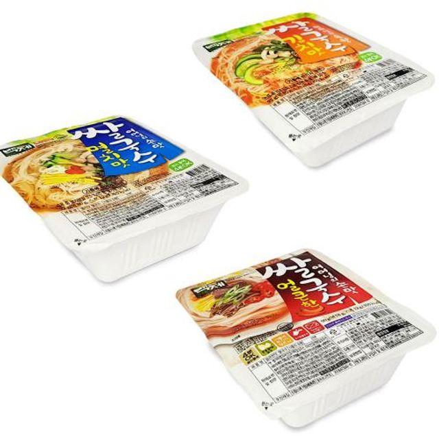 백제 쌀국수 끓는물 4분 컵라면 국수 김치맛 멸치맛 맛있는 라면 인기있는 라면 W7381FE
