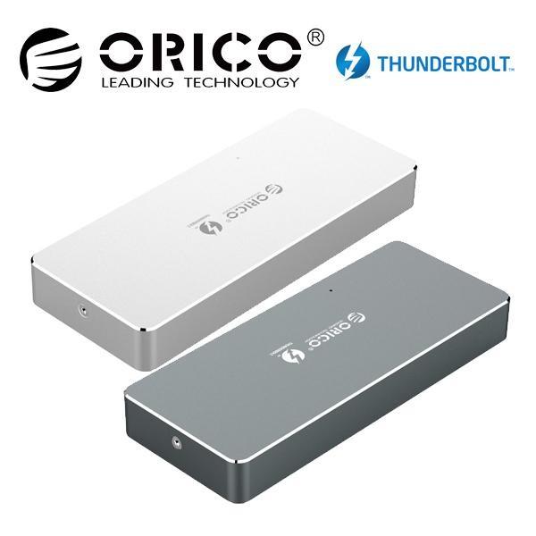 오리코 APM2T3-G40 썬더볼트3 NVMe M.2 외장SSD케이스, 실버 (POP 4807905224)