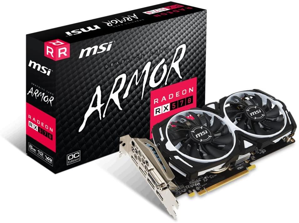 3.예상수령일 2-6일 이내 MSI Radeon RX 570 ARMOR 8G OC 그래픽 카드 B0785Q6DYP 일본아마존추천, 상세 설명 참조0