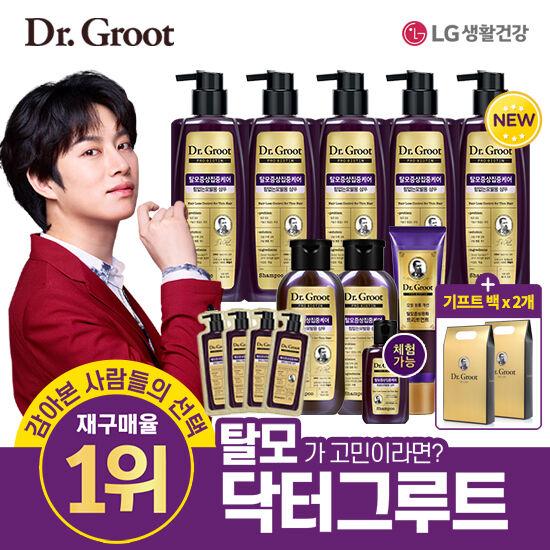[닥터그루트] 프로비오틴 김희철 탈모샴푸 선물세트, 단품