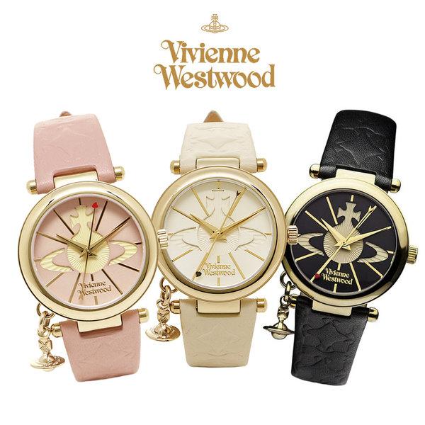 비비안웨스트우드 ORB 여성용 손목시계 3종