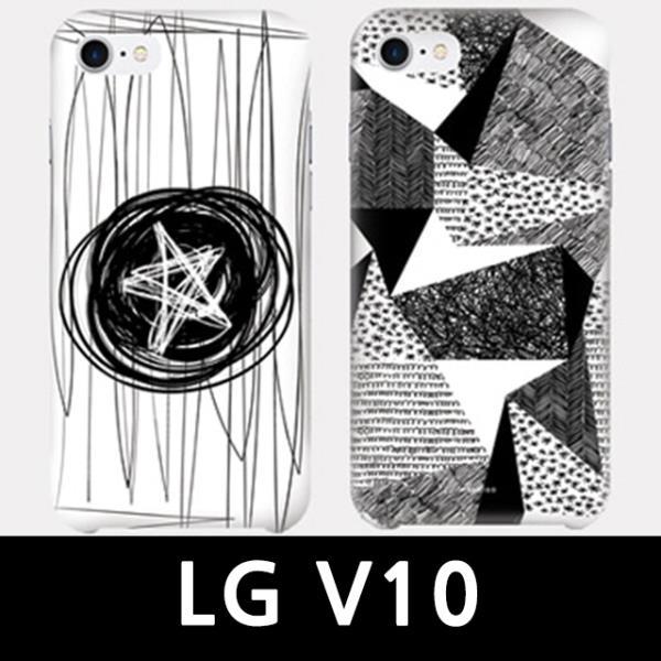 ksw59529 LG V10 스케치 슬림하드 핸드폰케이스 vb261 F600