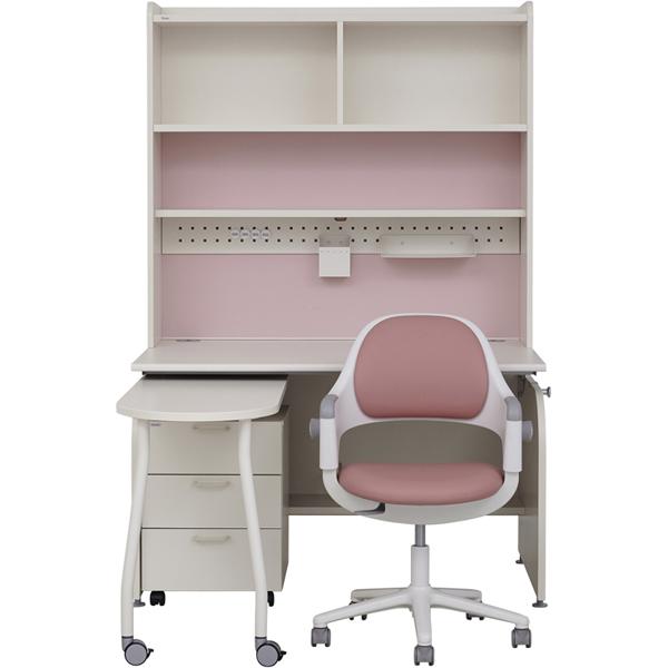 [추천]  [SET] 일룸 링키 퍼펙트 책상세트 + 시디즈 링고의자, 책상-아이보리+핑크:의자-인조가죽-핑크 할인!!