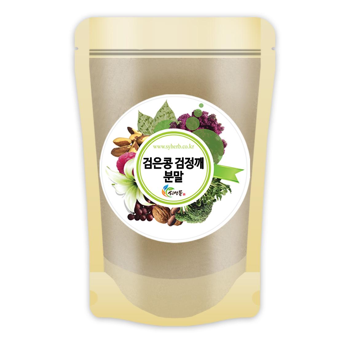 볶은 검은콩+검정깨 가루 500g 국산 검정콩 검은깨 블랙푸드, 1개