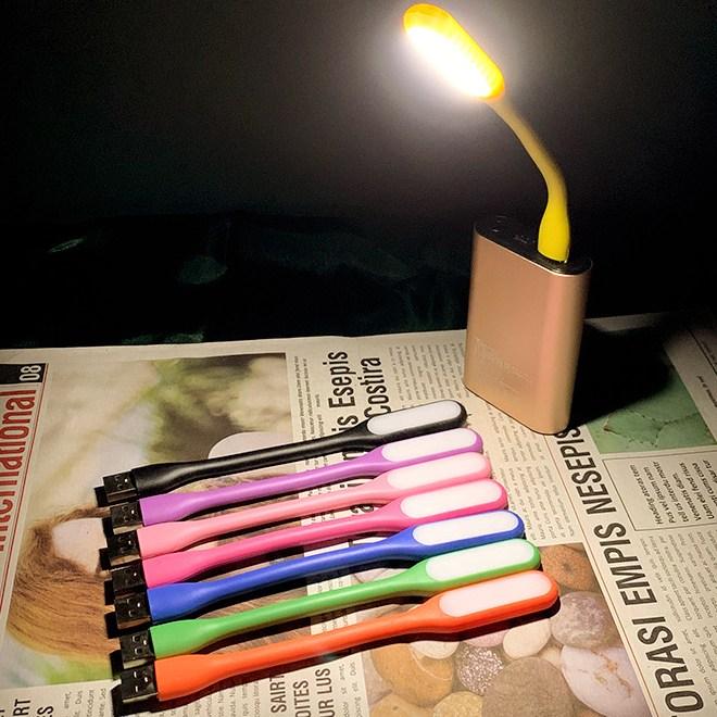 아이디오 USB LED 램프 조명 등 샤오미 가전 디지털 PC 선물 문구 휴대용 노트북 독서 필수 공부 컴퓨터 사무실 밤 학생 인테리어 IDIO, 핑크색