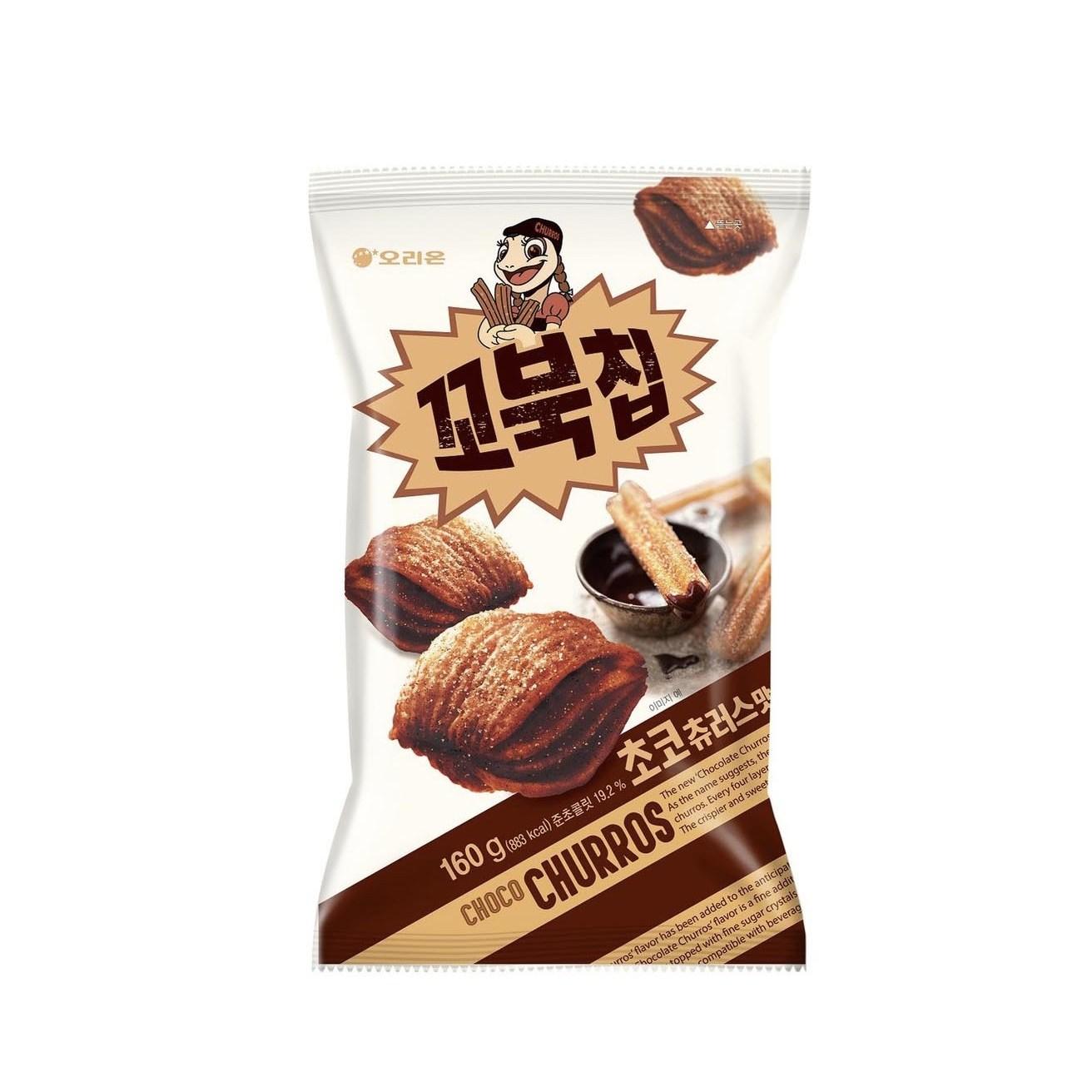 핫딜 오리온 꼬북칩 초코츄러스맛 160g x 5봉 1박스