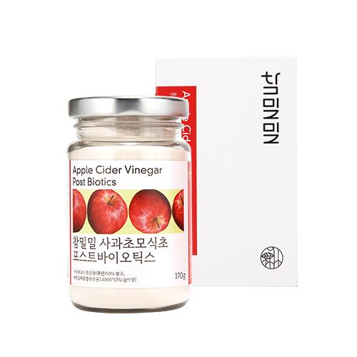 참밀밀 사과초모식초 애플사이다비니거 분말 천연발효 사과효모식초 170g