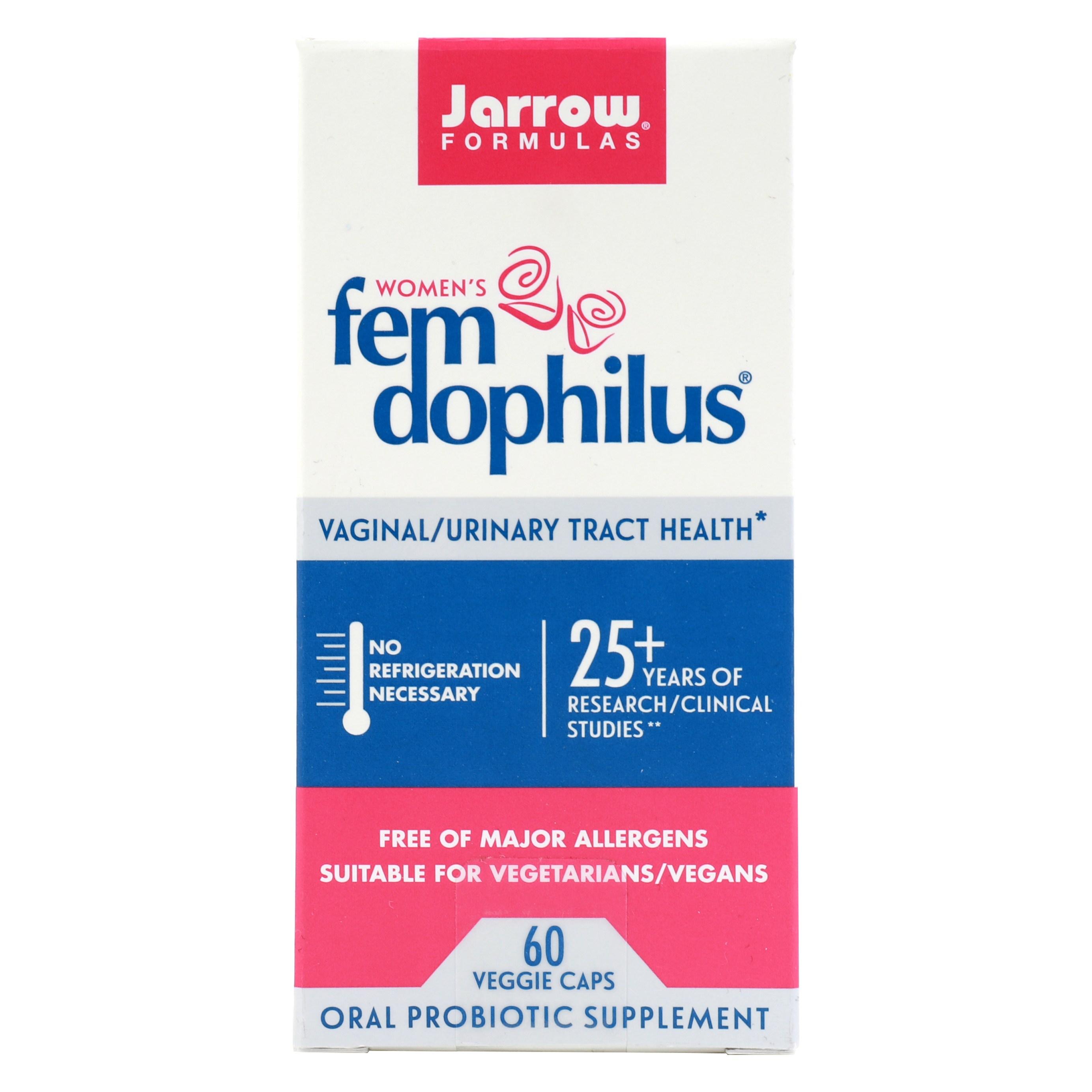 재로우 우먼 펨-도필러스 유산균 베지테리안 캡슐, 60개입, 1개