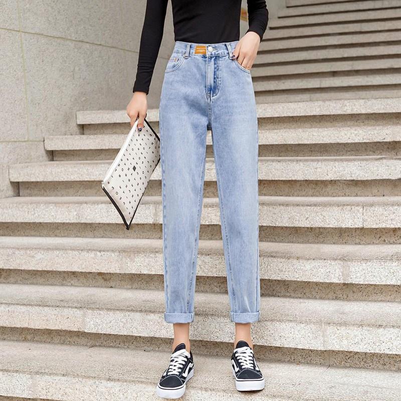 나래쇼핑몰 데미지 청바지 여성 가을옷 하이웨스트 와이드 루즈핏 슬림핏 스트레이트핏 일자 배기 팬츠 트렌드