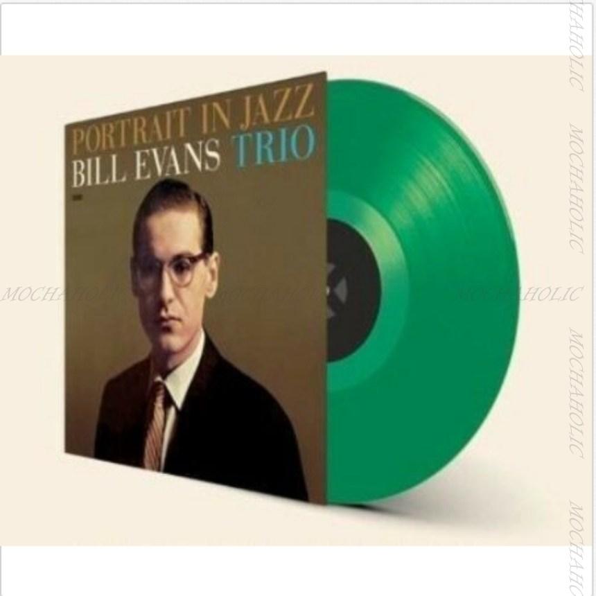 빌 에반스 Bill Evans LP 판 레코드Portrait In Jazz- 그린 컬러e Club Vinyl