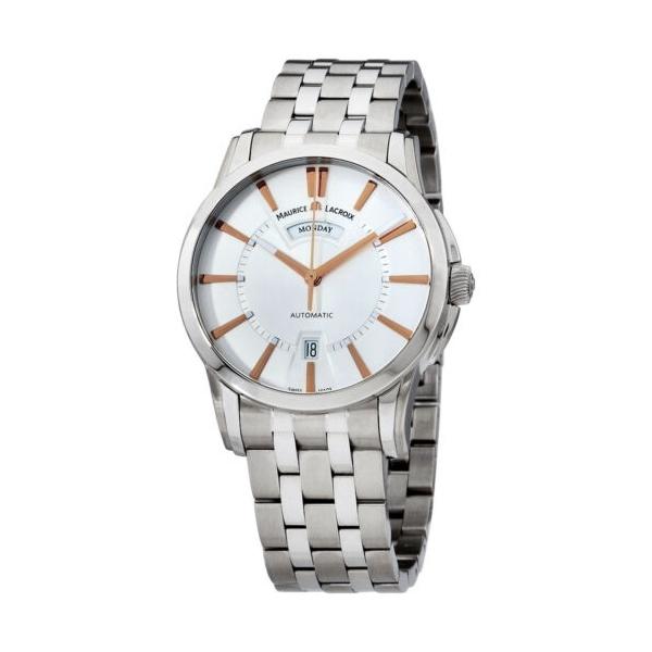243618 / Maurice Lacroix Pontos Automatic Movement Men's Watch PT6158-SS002-19E-1