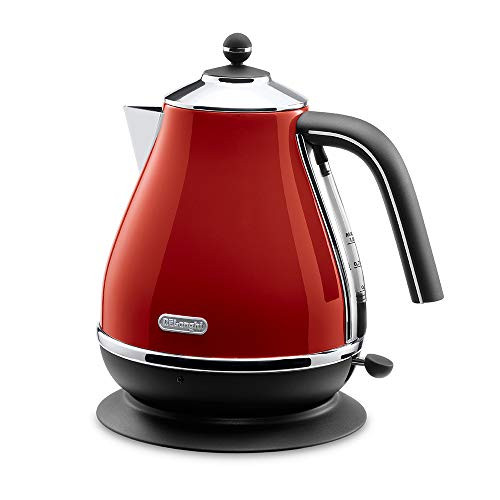드롱기 전기포트 아이코나 컬렉션 AC 100 V Delonghi icona Collection Electric kettle KBO1200J-R Red