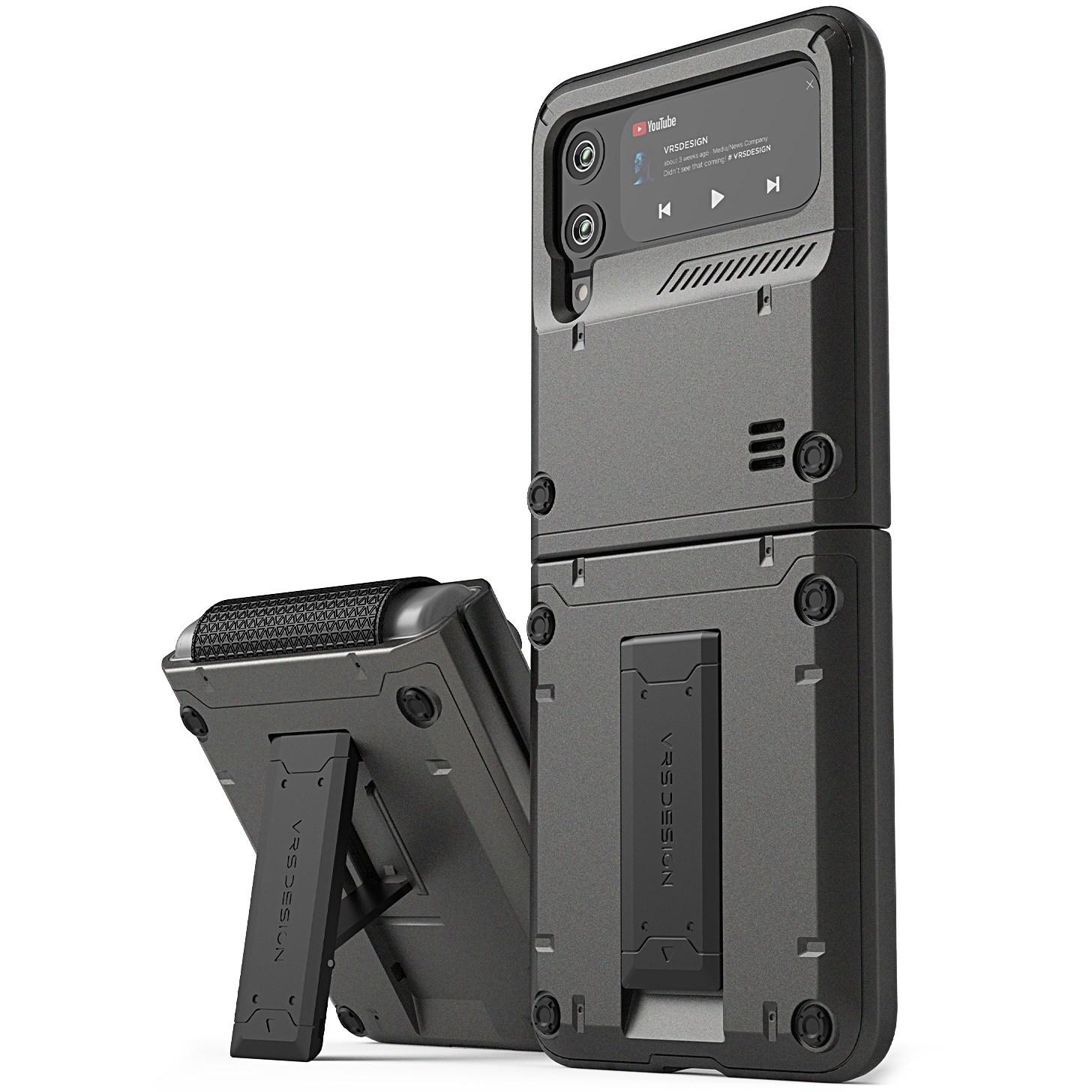 [z플립3 케이스] 베루스 거치대 하드 범퍼 힌지 커버 휴대폰 케이스 퀵스탠드 액티브 - 랭킹2위 (28800원)
