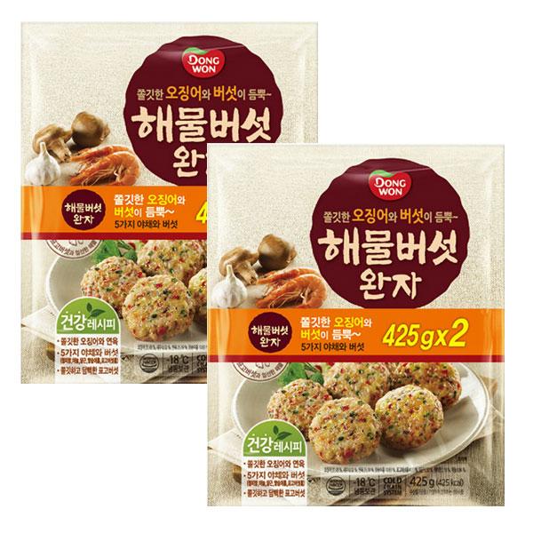 동원에프앤비 동원 해물버섯완자 425gx4개 무료배송, 1개