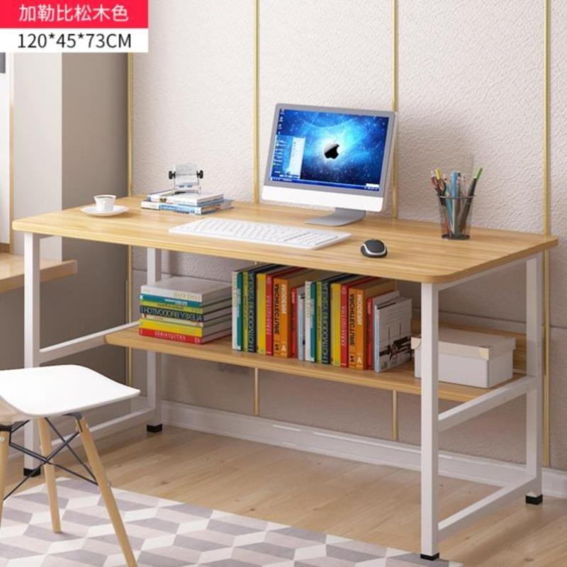 사무실 컴퓨터 작업용 테이블 책상 심플한 구조, 120 캐리비안 파인 컬러 2 업그레이드