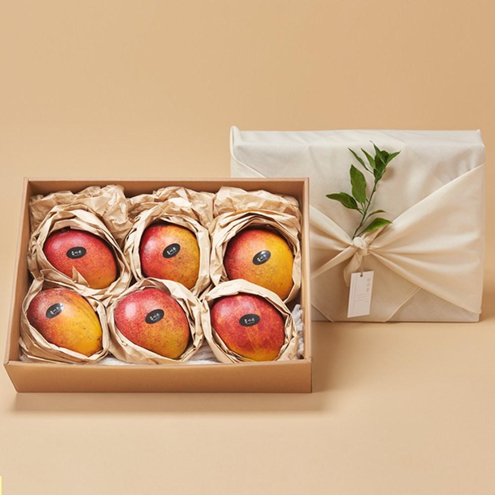 올바른로컬푸드 애플망고 6~9과 (선물용) 3kg, 단일상품
