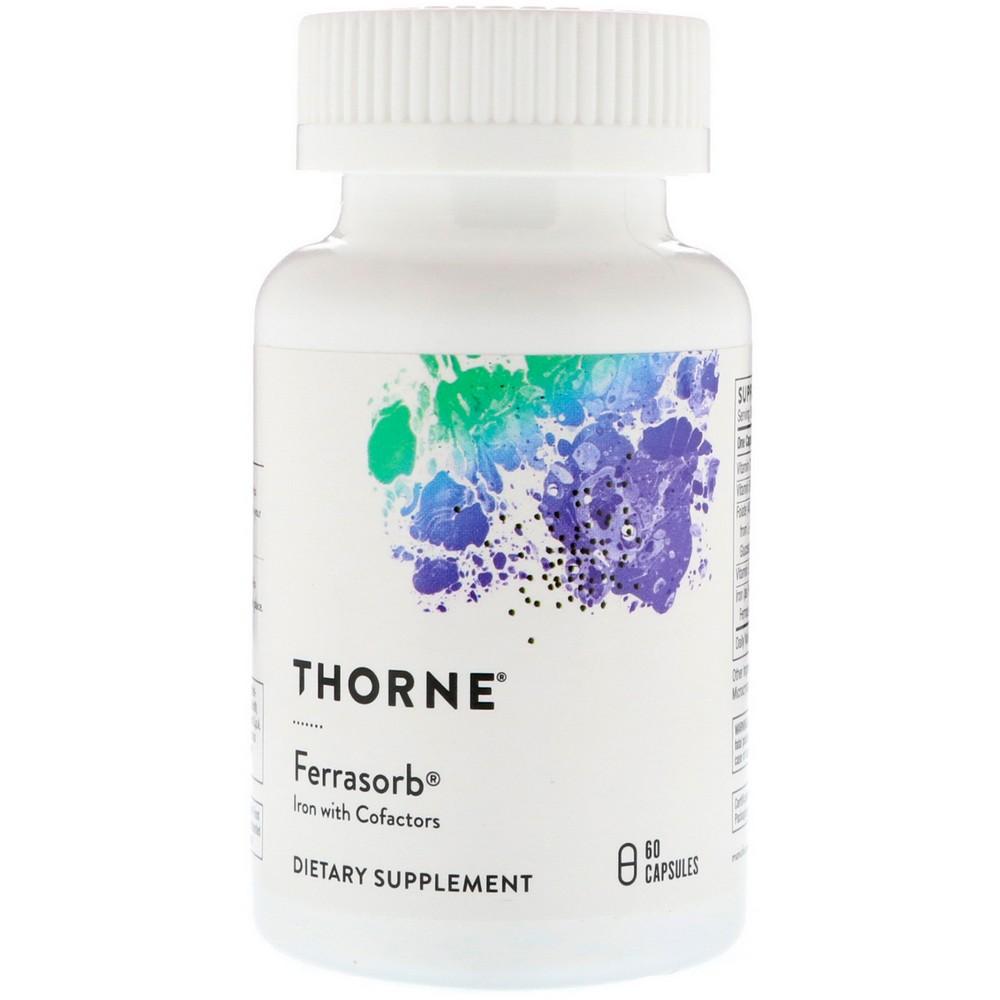 Thorne Research Ferrasorb 60정, 선택, 상세설명참조