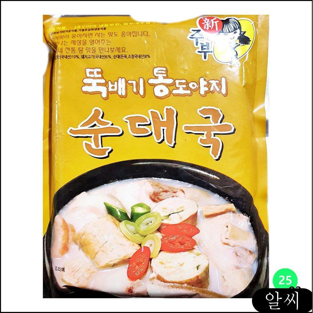선미 순대국 탕/조림 즉석식품 600gX25 탕류 식자재 업소용식자재 안주 ijyu, RCMK 1