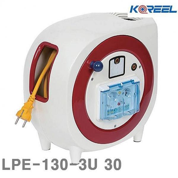 카윙 삼국 수동전선릴 LPE-130-3U 30 5 10 1EA 전기연장선 릴선, 1, 1