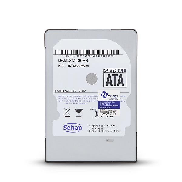 리퍼 Sebap SM500RS 2.5 HDD (500GB 노트북용), 500GB, 선택하세요
