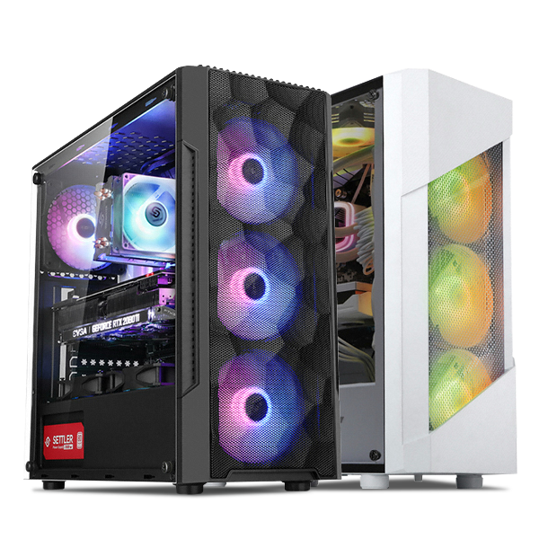 초이스컴 조립컴퓨터 게이밍PC RTX2060 SUPER GTX1660, 기본형, 게이밍 1번-9100F+GTX1050Ti+8G