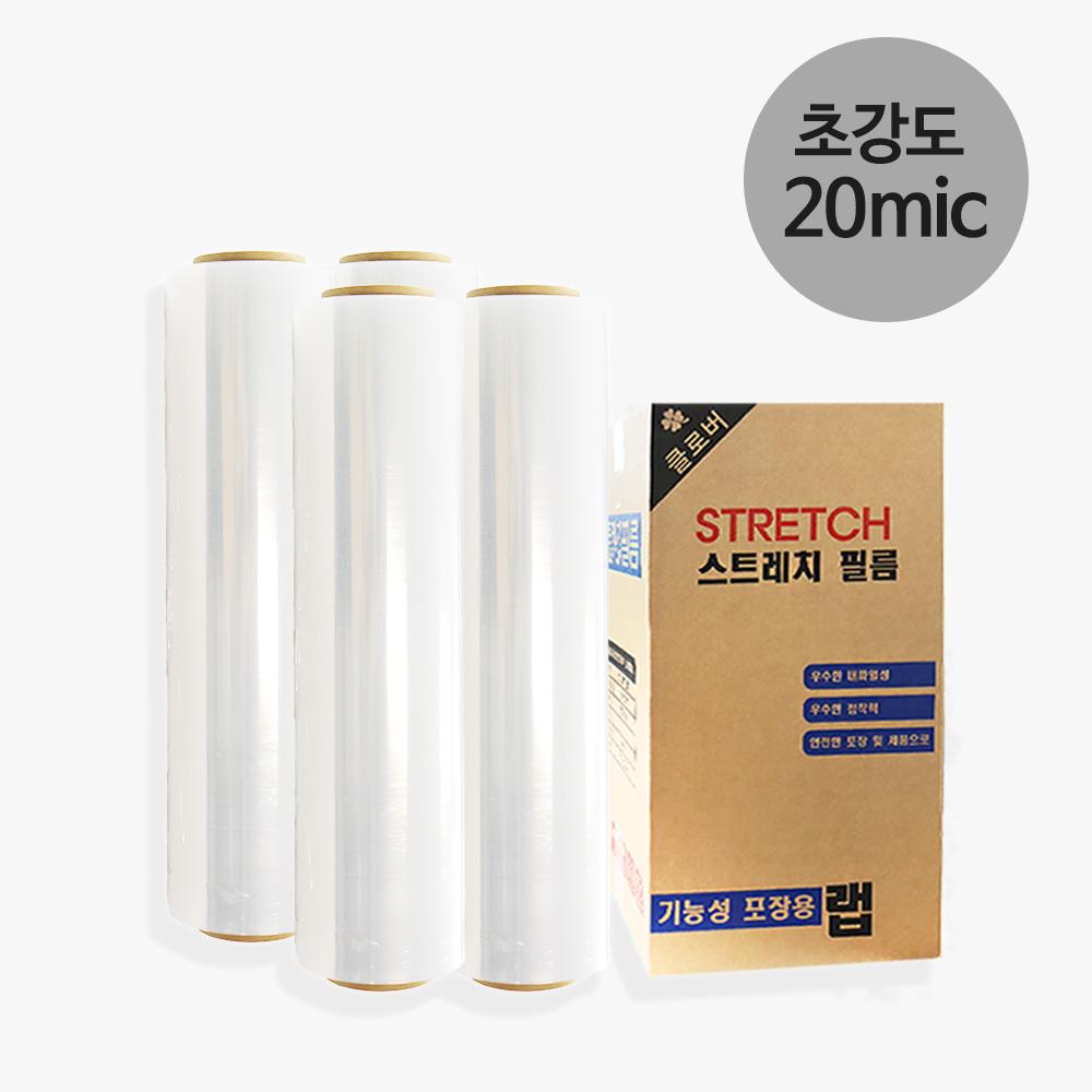 다모아 스트레치랩 20mic x 500mm 375m (공업용랩 4롤), 1box