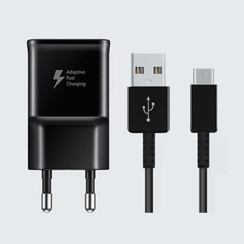 삼성 삼성갤럭시S9 S8 S7 S6 S5 스마트고속충전기 삼성정품 블랙, 삼성정품 고속충전기(블랙) + C타입 고속충전케이블 1.2M(블랙)
