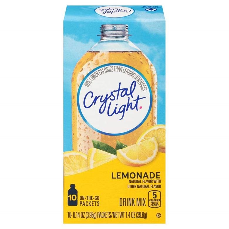 Crystal Light 드링크 믹스 레몬에이드 10개입, 39.6g, 1개
