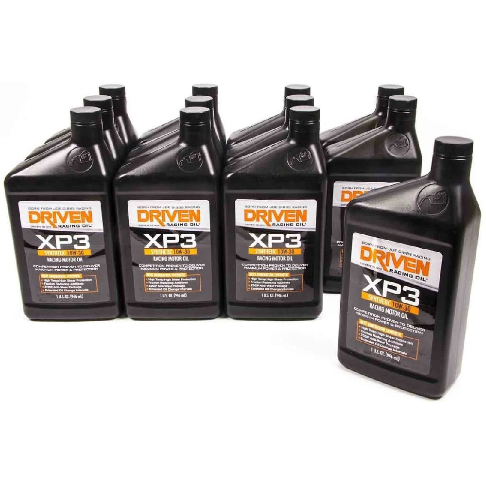 Driven Racing Oil 00 307 XP3 SAE 10W (30) 합성 레이싱 오일 레이싱 오일 구동, none