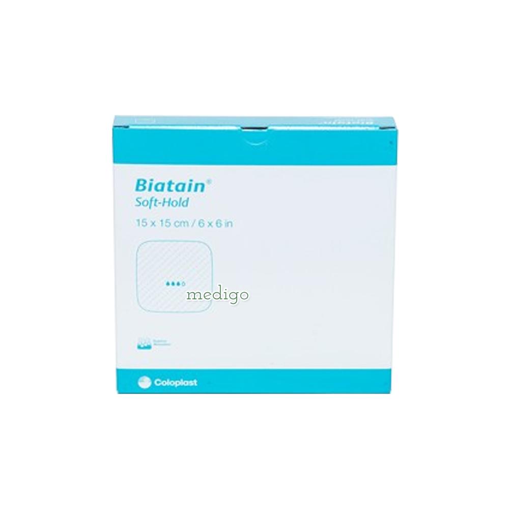 바이아테인 소프트 홀드 Biatain soft hold 점착식폼드레싱 3475 15cmx15cmx5매 (POP 1112130314)