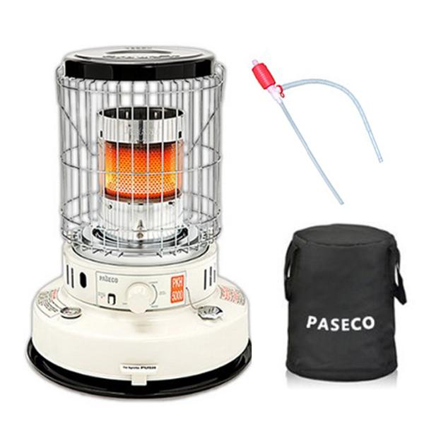 파세코 자동점화 석유난로 + 보관가방 + 주유기 세트, PKH-5000B