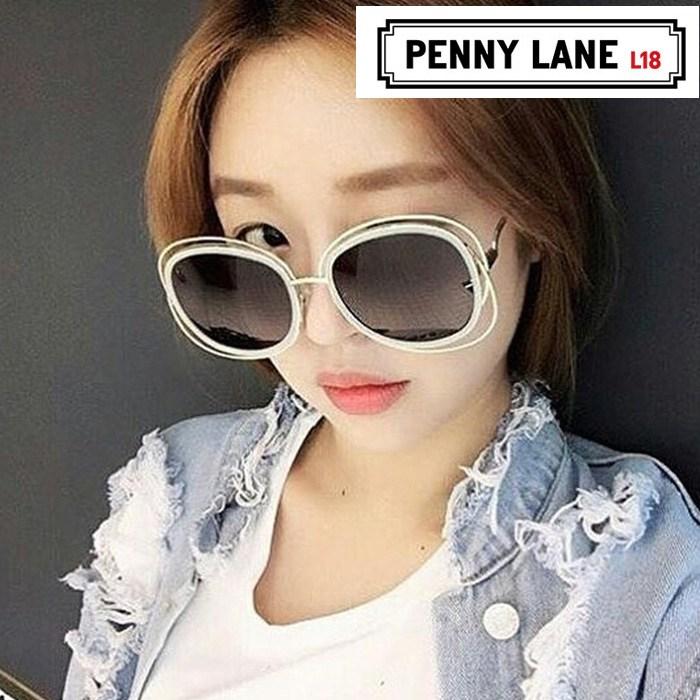 PENNY LANE 페니레인선글라스 Bibury 바이버리 패피선글라스 동그란선글라스 남녀공용 면세점상품 5종