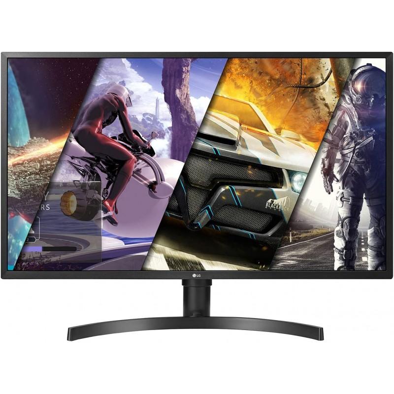 LG 32UK550-B Radeon Freesync 기술 및 HDR 10 검은 색 32 인치 4K UHD 모니터, 단일옵션