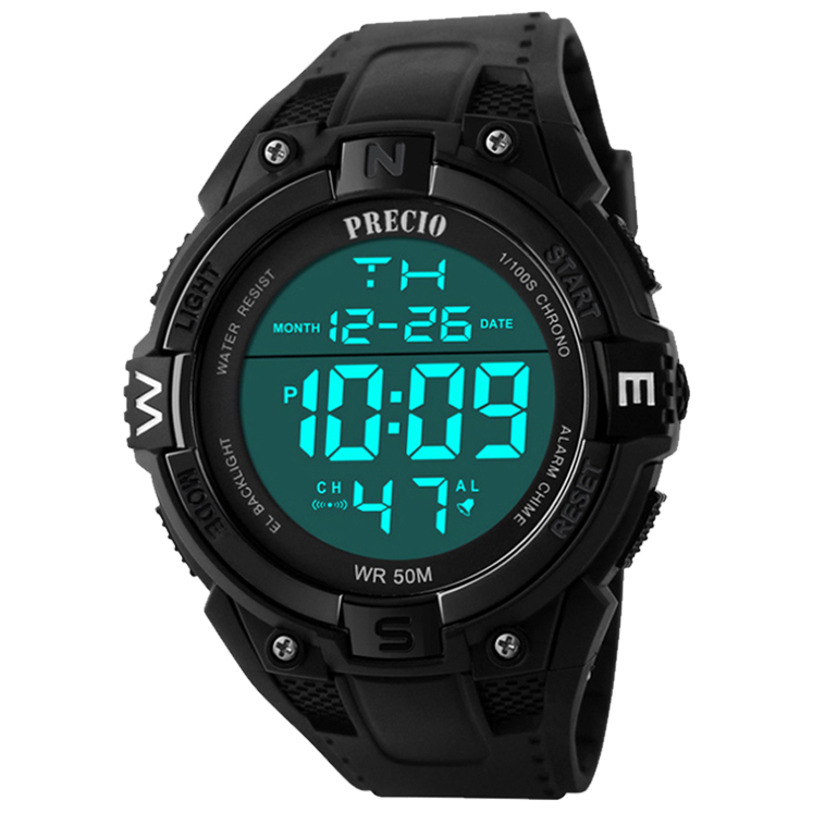 프레시오 스포츠 전자손목시계 군인시계 N40프레시오 스포츠시계 전자시계 손목시계 50M방수시계 N68프레시오 군인 군용 방수전