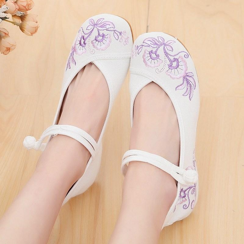 주연 한복신발 꽃신 전통 생활한복 여성화 신발JM288