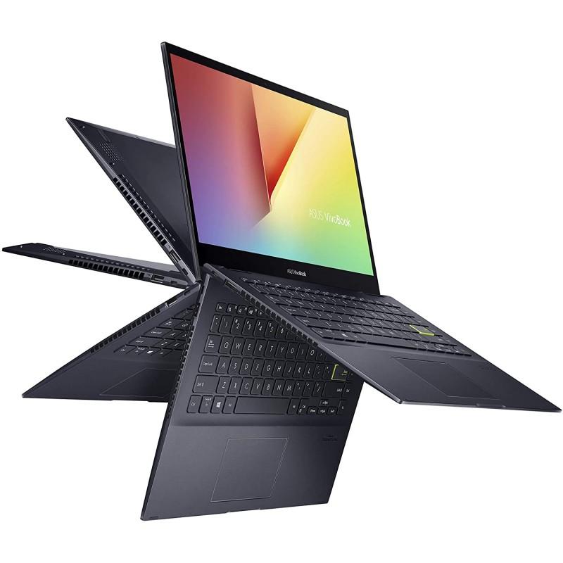 ASUS VivoBook Flip 14 얇고 가벼운 2-in-1 노트북 14 형 FHD 터치 디스플레이 AMD Ryzen 5 4500U 8GB DDR4 RAM 256GB SSD, 1, 단일옵션, 단일옵션