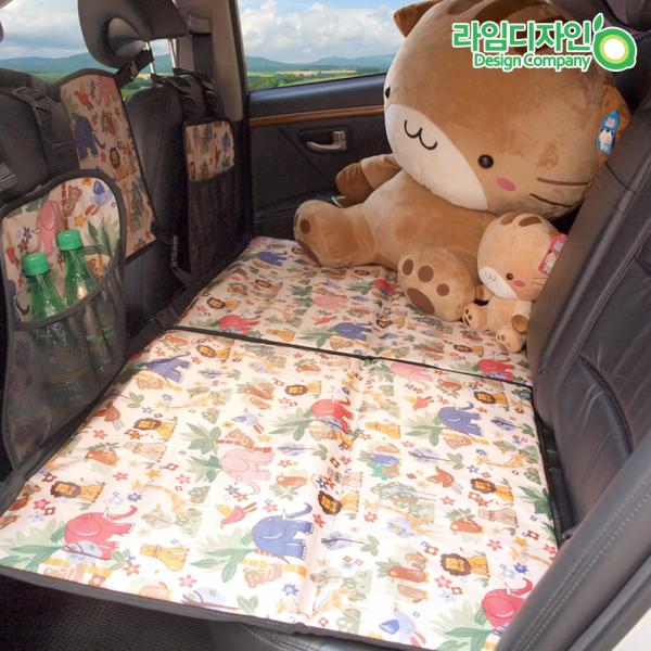 자동차 뒷좌석 사파리 놀이방매트 풀세트, 사파리놀이방 풀세트