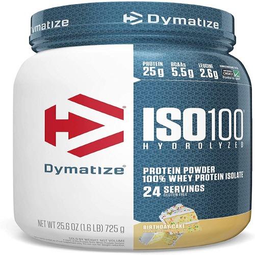 다이마타이즈 ISO100 하이드로라이즈드 프로틴 파우더 생일 케이크맛 725g, 1개, 907g