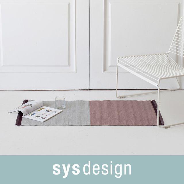 [천삼백케이] [시스디자인] 로젠 PVC 주방매트 50x110 (중), 혼합