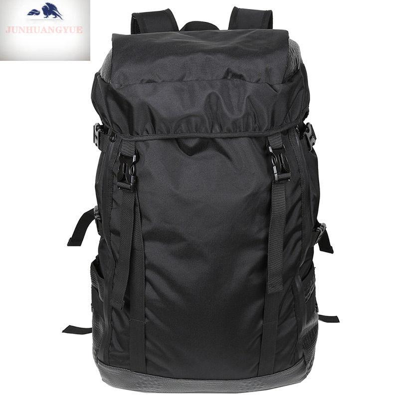 등산 가방 가 벼 운 여행 가방 남자 대 용량 대 용량 숄 더 백 운동 자전거 여행 하 다 여행짐 가방 가방 가방 가방 검은색, 상세페이지 참조
