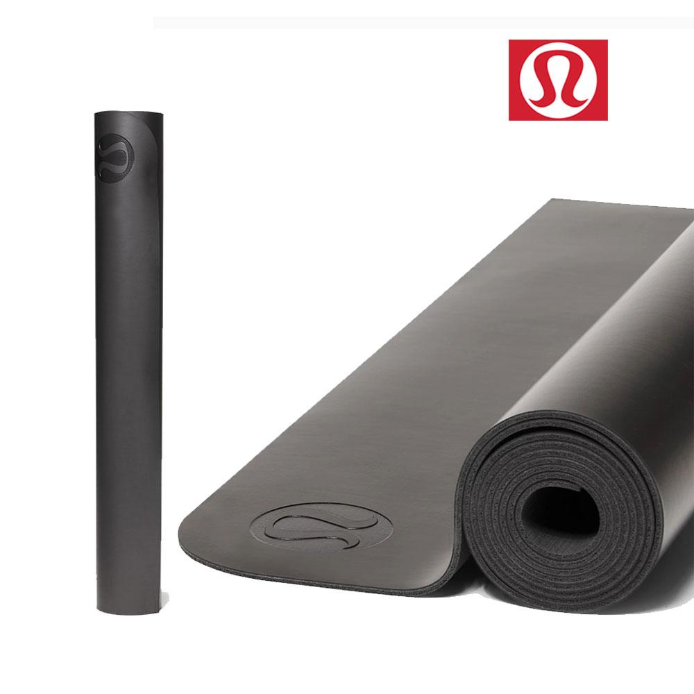 룰루레몬 요가매트 리버시블 블랙 매트 The Reversible Mat 3mm, Black