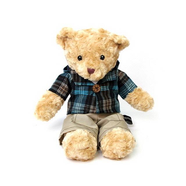 ksw50187 신체크후드 테디베어 남자곰 대형 브라운 55 va417 한곰인형