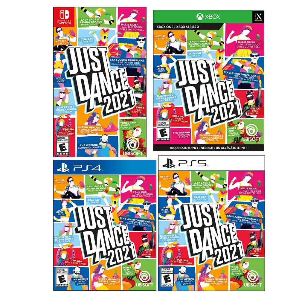 저스트댄스 2021 닌텐도 스위치 Xbox PS4 PS5, Xbox One