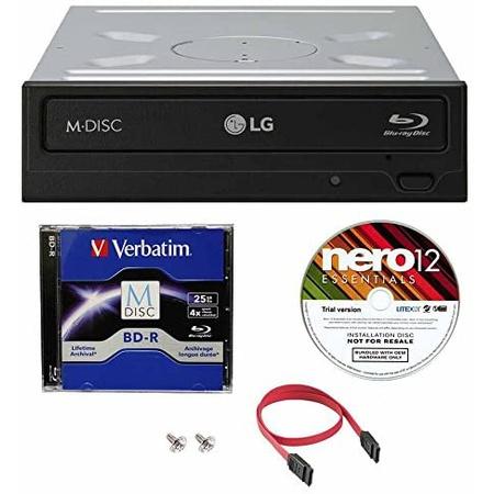 Visit the LG 매장 LG WH16NS40 16X 슈퍼드라이브 멀티 M-Disc 블루레이 BDXL DVD CD 내장 버너 라이터 드, 상세 설명 참조0