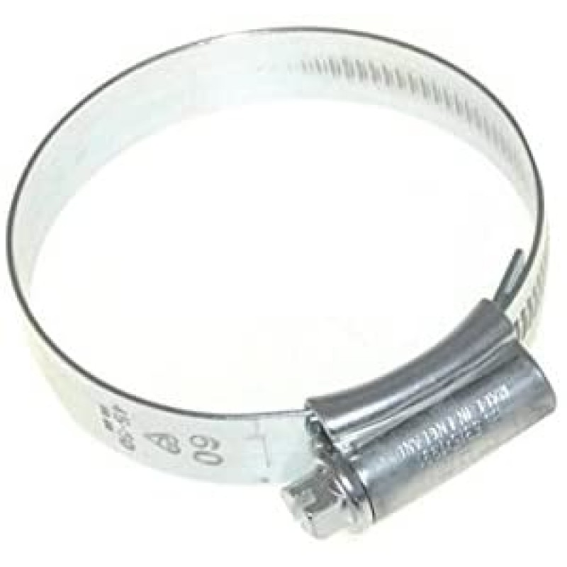 Invero® 범용 스테인리스 스틸 호스 파이프 클립 클램프 밴드 패스너 40mm x 60mm